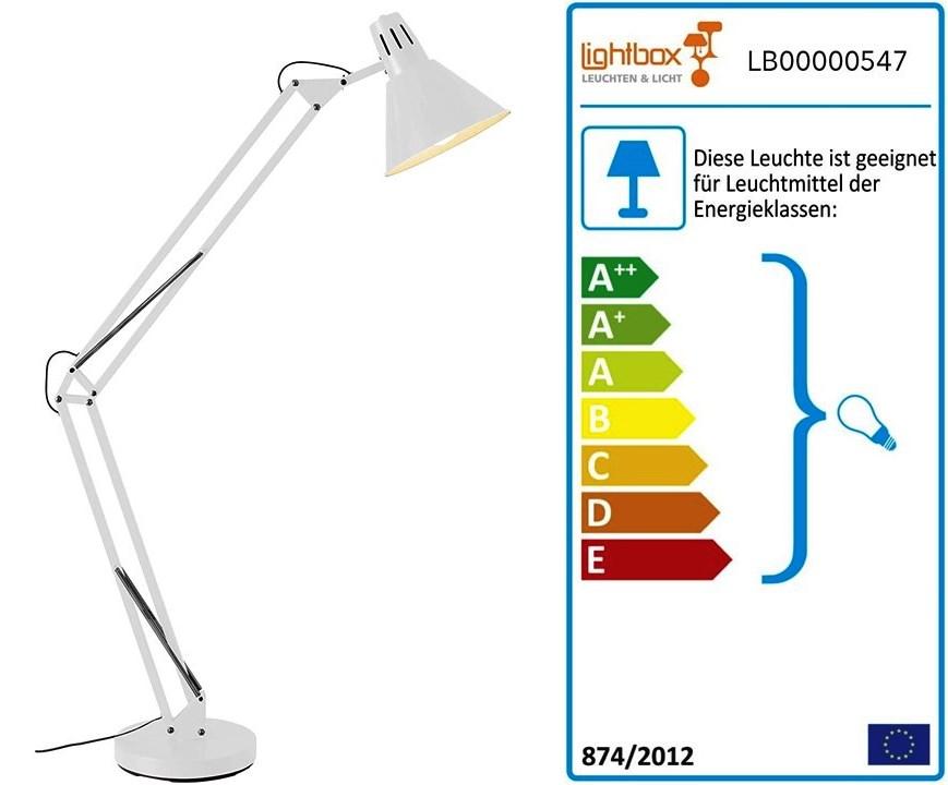 Lámpara de pie para escritorio